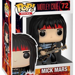 Figurine Pop! Rocks Motley Crue - Mick Mars