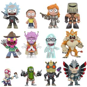 Rick & Morty Mystery Mini Blind Figurine de collection Standard