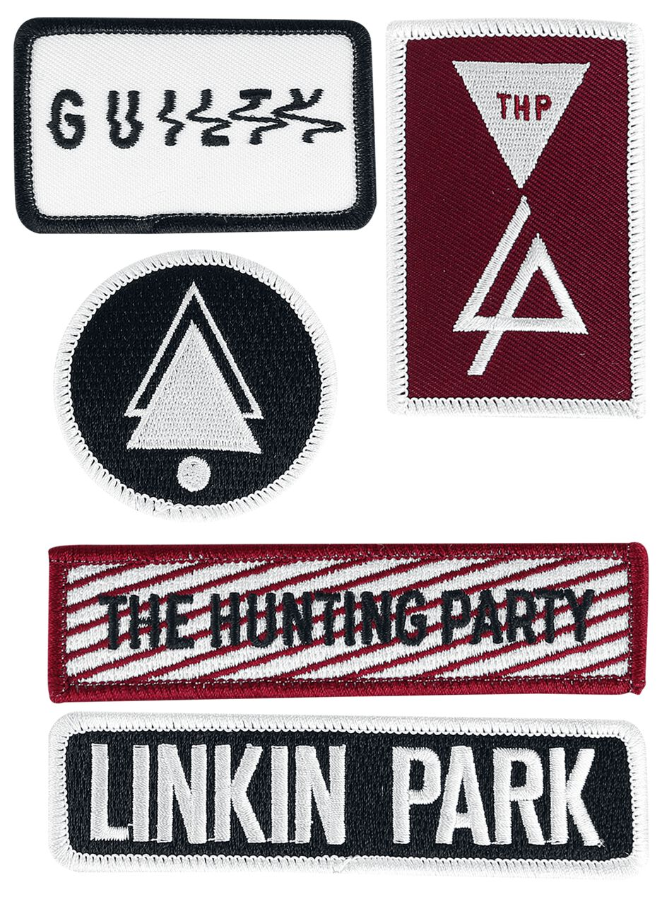Image of   Linkin Park Patch-Set Patch multifarvet