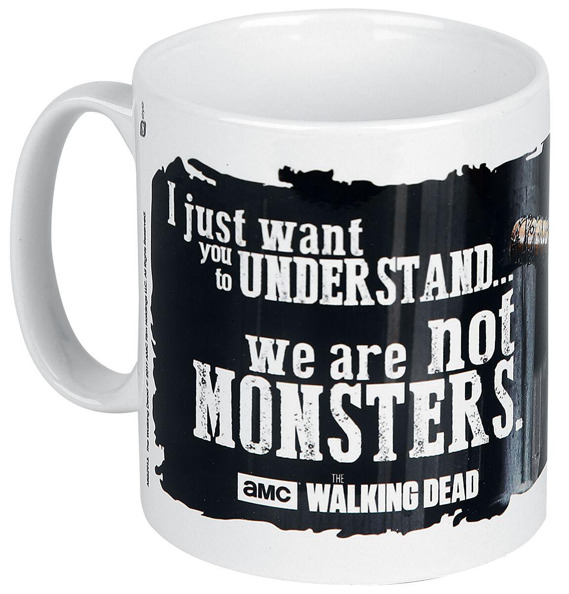 Image of   The Walking Dead Negan - Monsters Krus hvid
