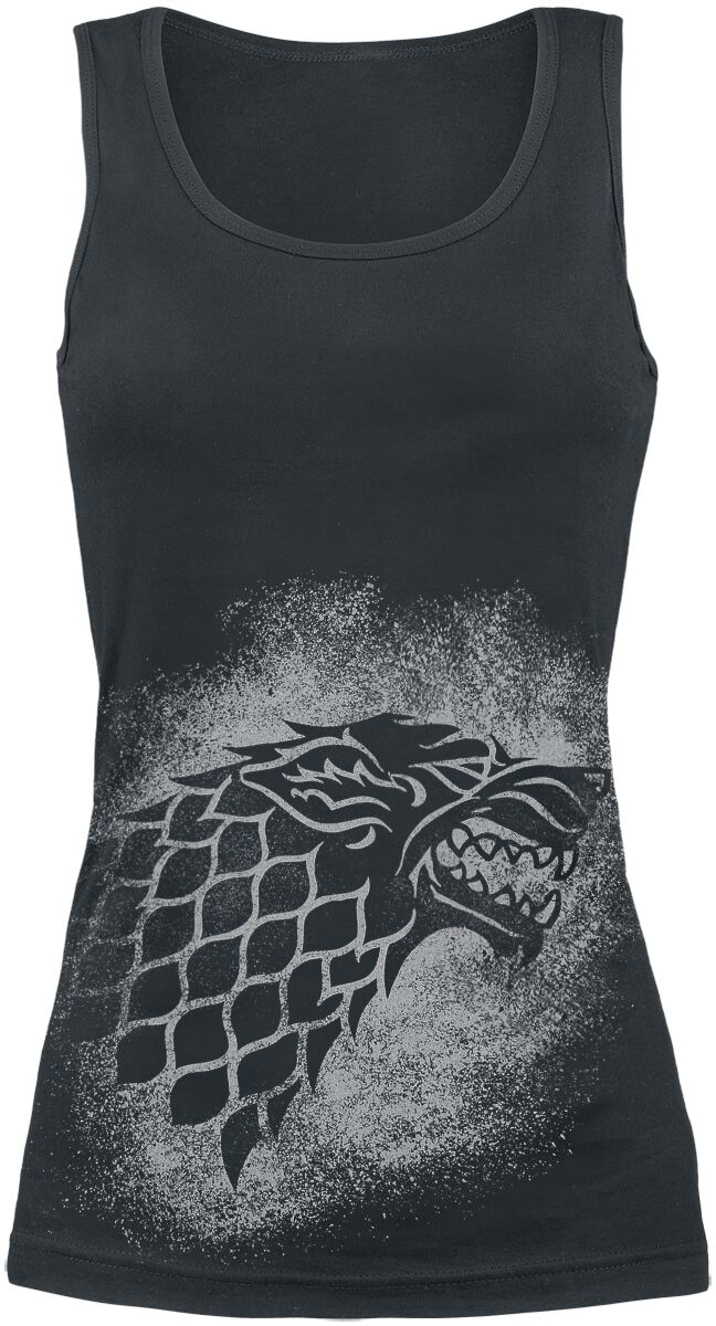 Image of   Game Of Thrones House Stark - Spray Girlie top sort