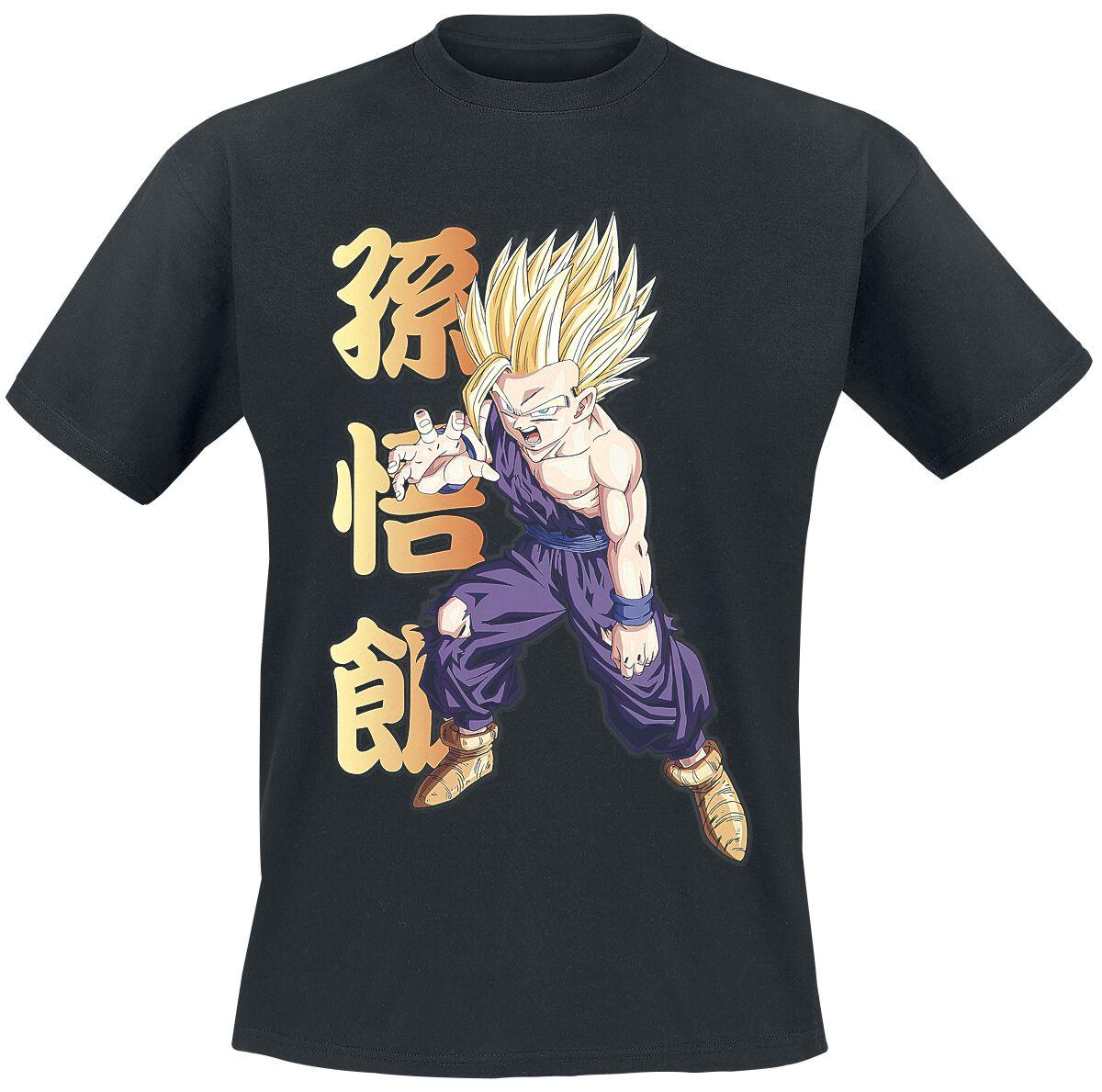 Merch dla Fanów - Koszulki - T-Shirt Dragon Ball Z - Gohan T-Shirt czarny - 374312
