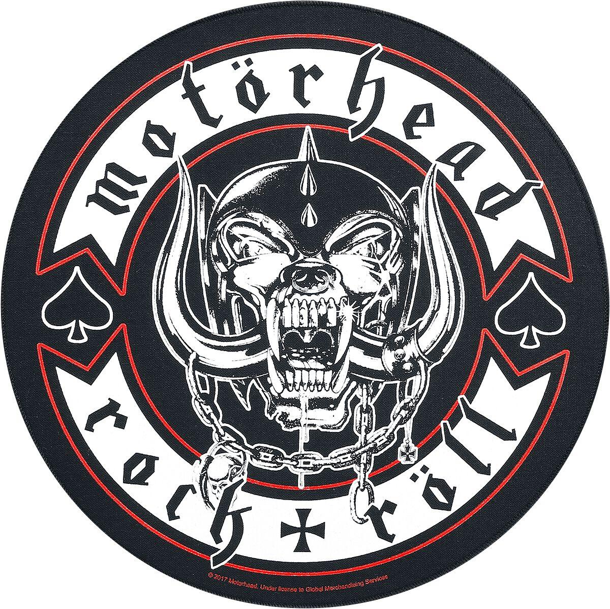 Image of   Motörhead Biker Rygmærke multifarvet