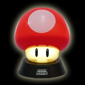 Super Mario Champignon Lampe Standard
