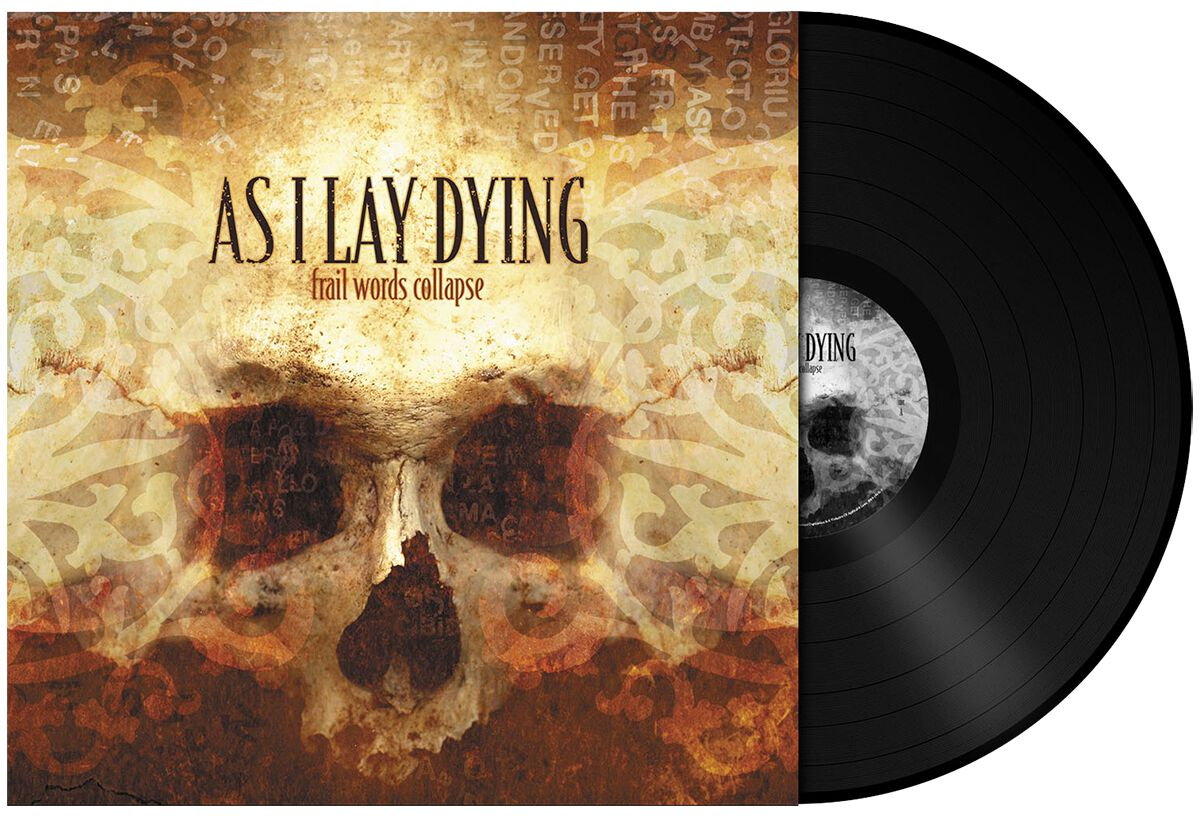 Image of   As I Lay Dying Frail words collapse LP standard