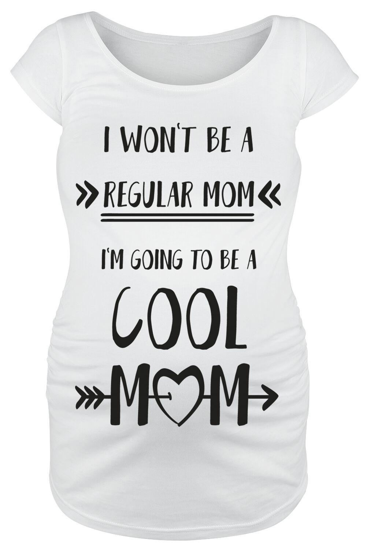 Odzież ciążowa Cool Mom Koszulka damska biały