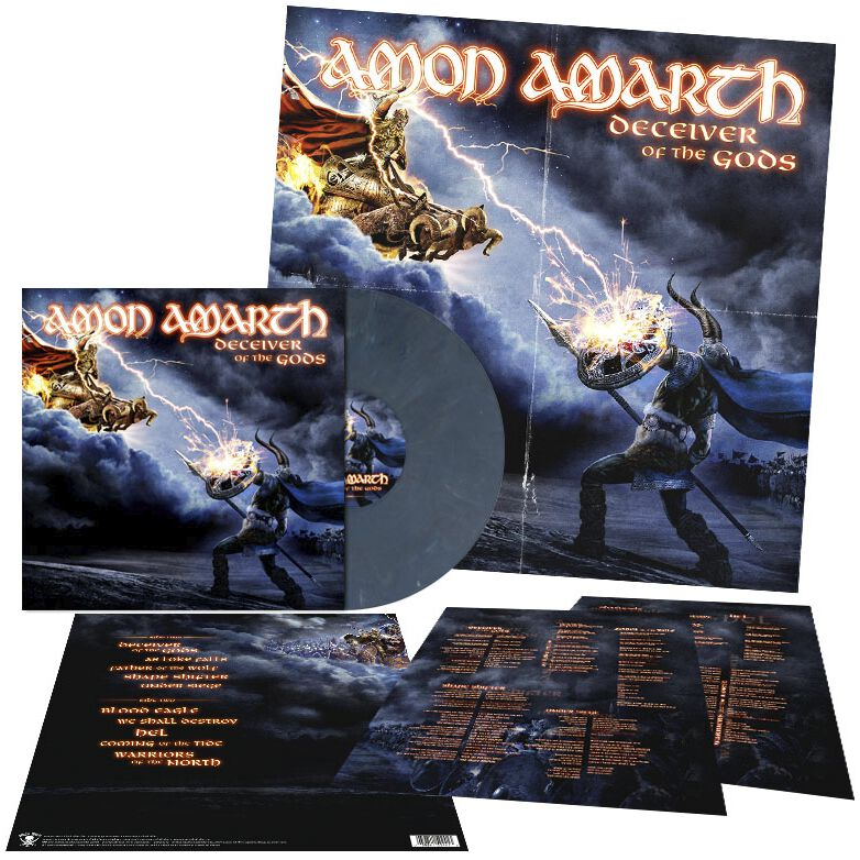 Image of   Amon Amarth Deceiver of the gods LP standard