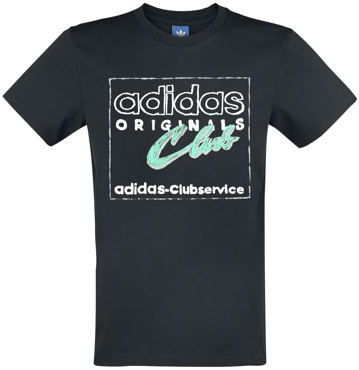 Image of   Adidas Hand Drawn T5 T-Shirt sort