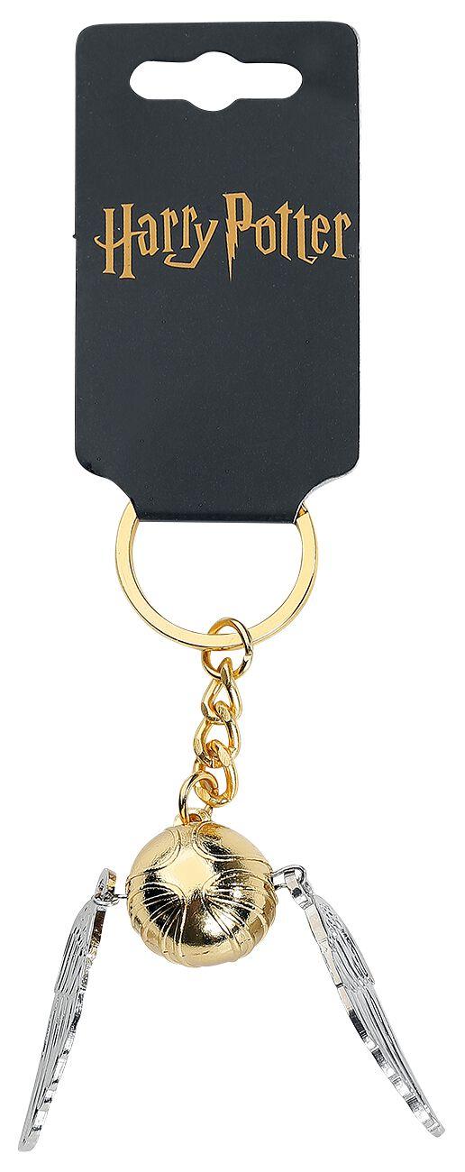 Image of   Harry Potter Golden Snitch Nøglering Standard