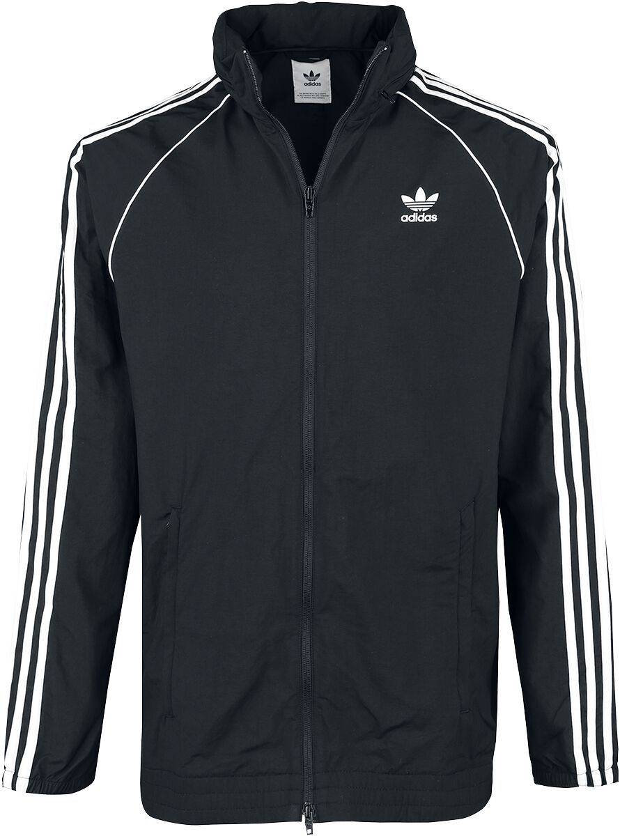 Image of   Adidas SST Windbreaker Jakke sort-hvid