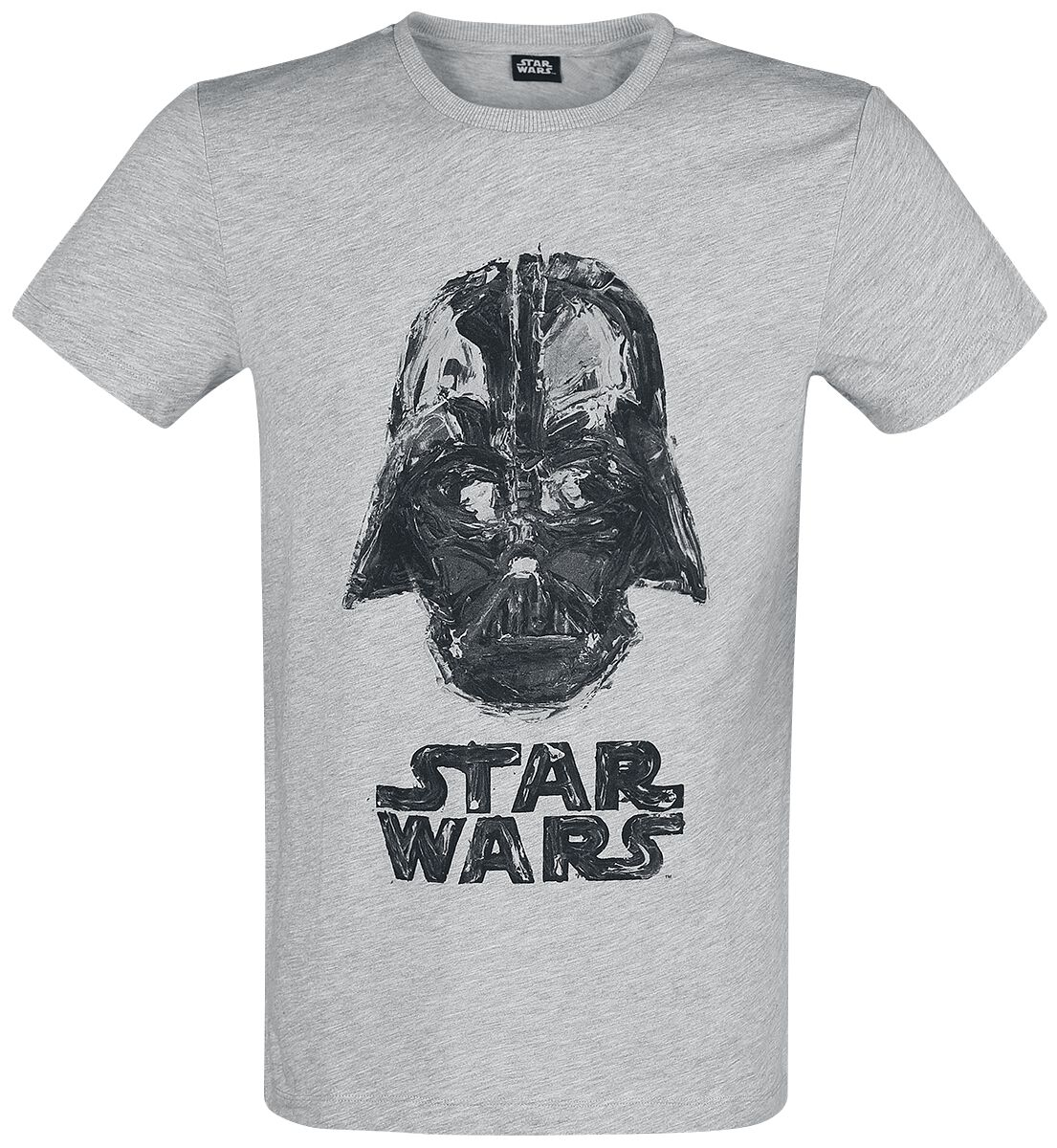 Image of   Star Wars Darth Vader T-Shirt blandet lys grå