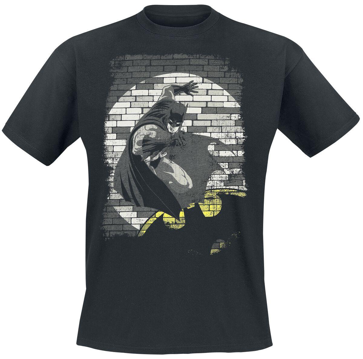 Image of   Batman Spotlight T-Shirt sort