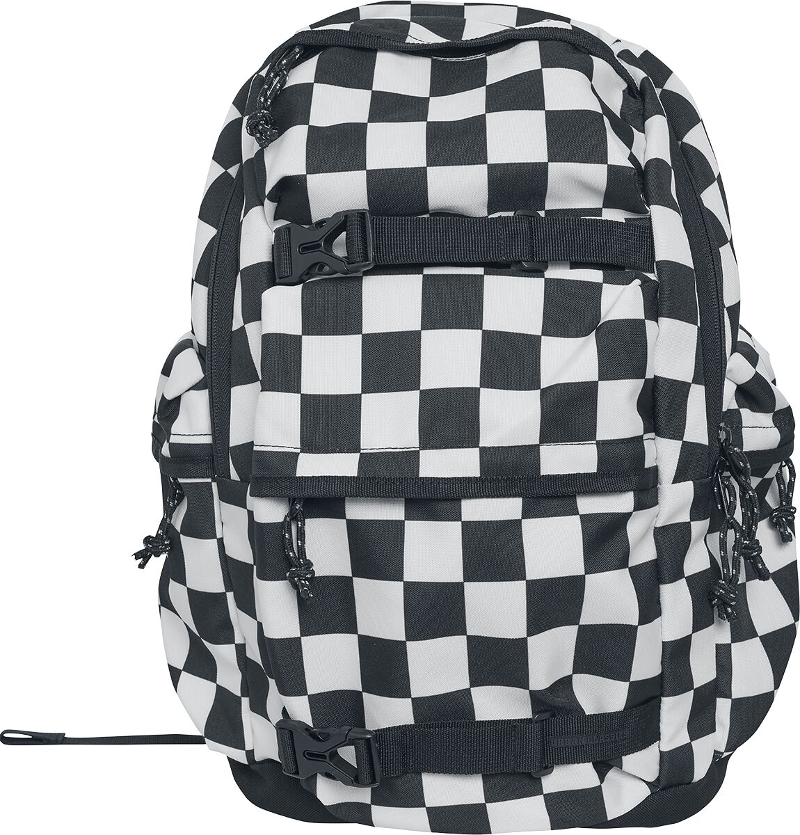 Image of   Urban Classics Backpack Checker Rygsæk sort-hvid