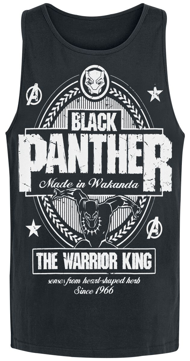 Image of   Black Panther Made In Wakanda Tanktop sort