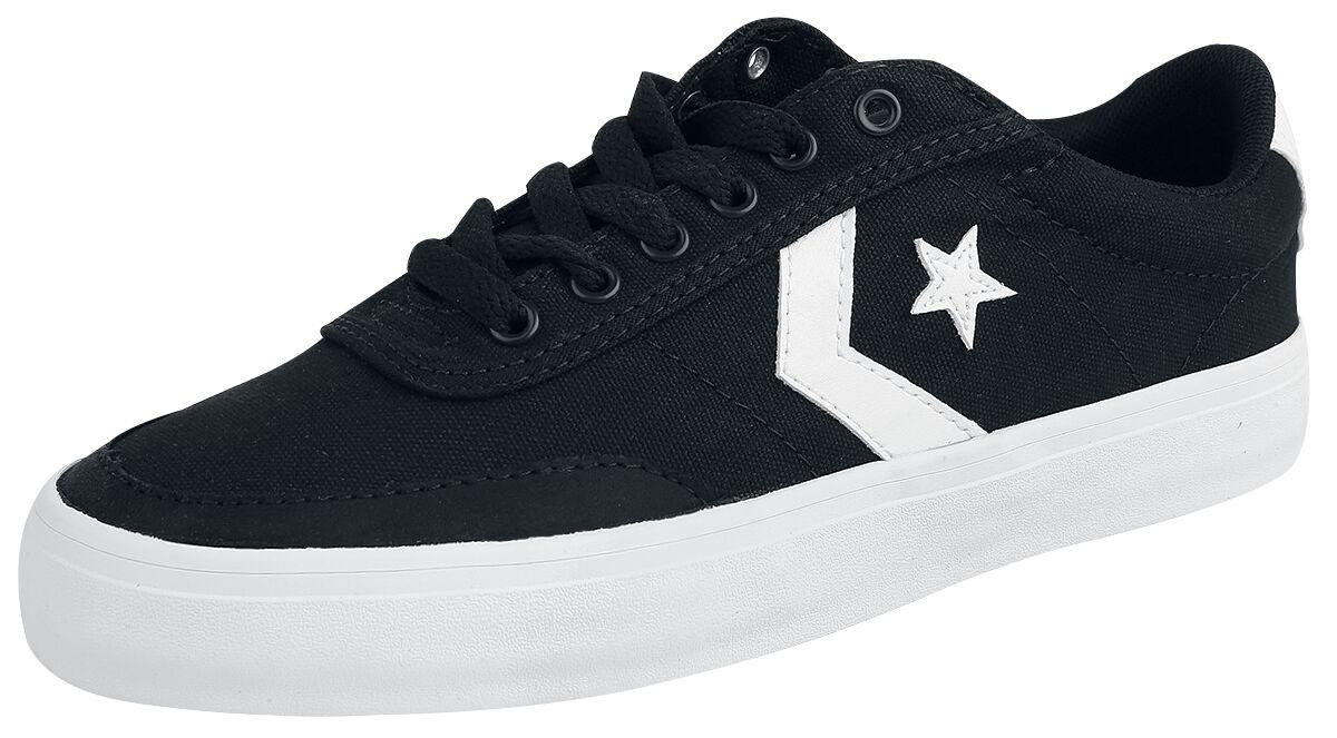 Image of   Converse Courtlandt - OX Sneakers sort-hvid