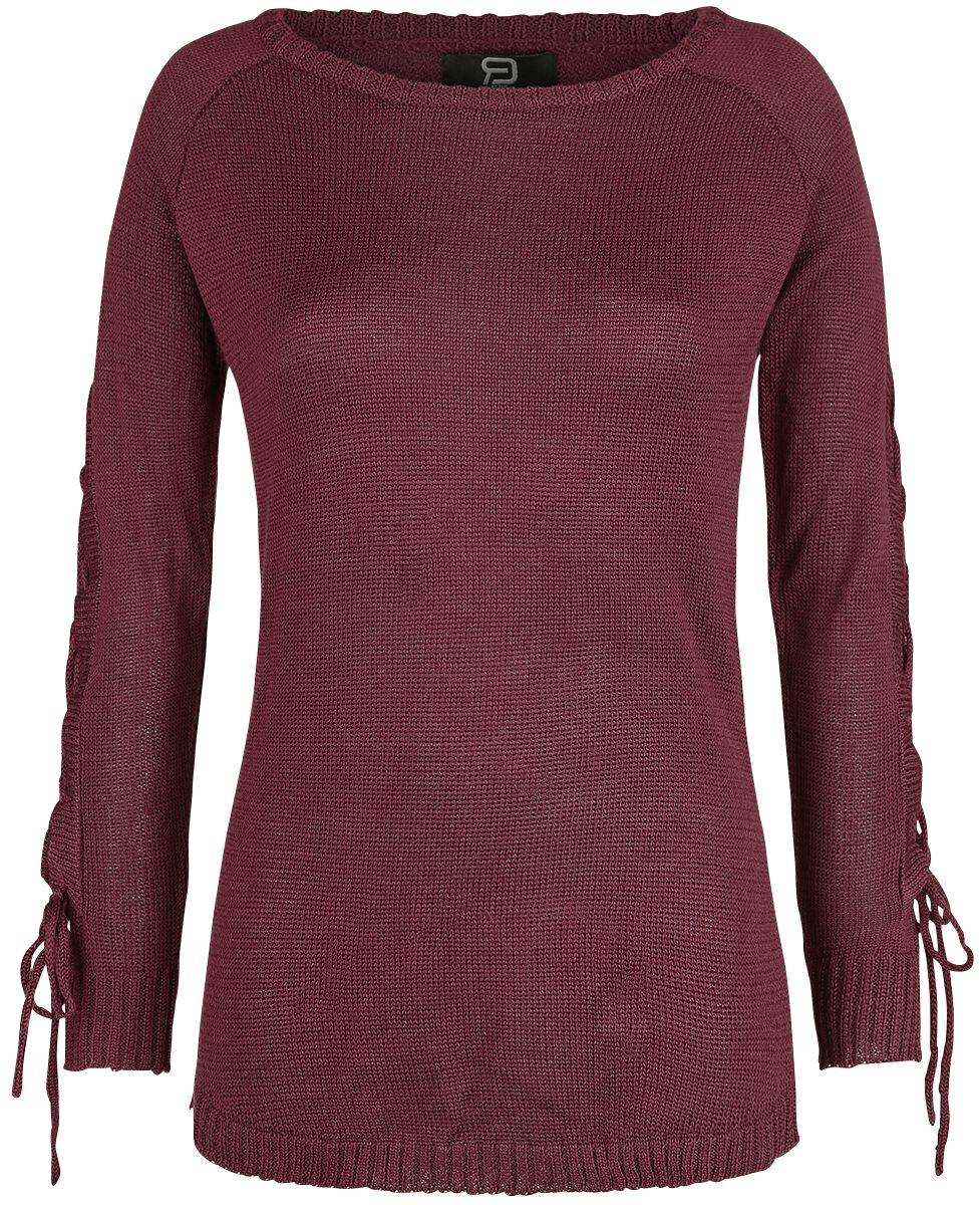 Image of   RED by EMP Everyday Is Like Sunday Girlie sweatshirt mørk rød