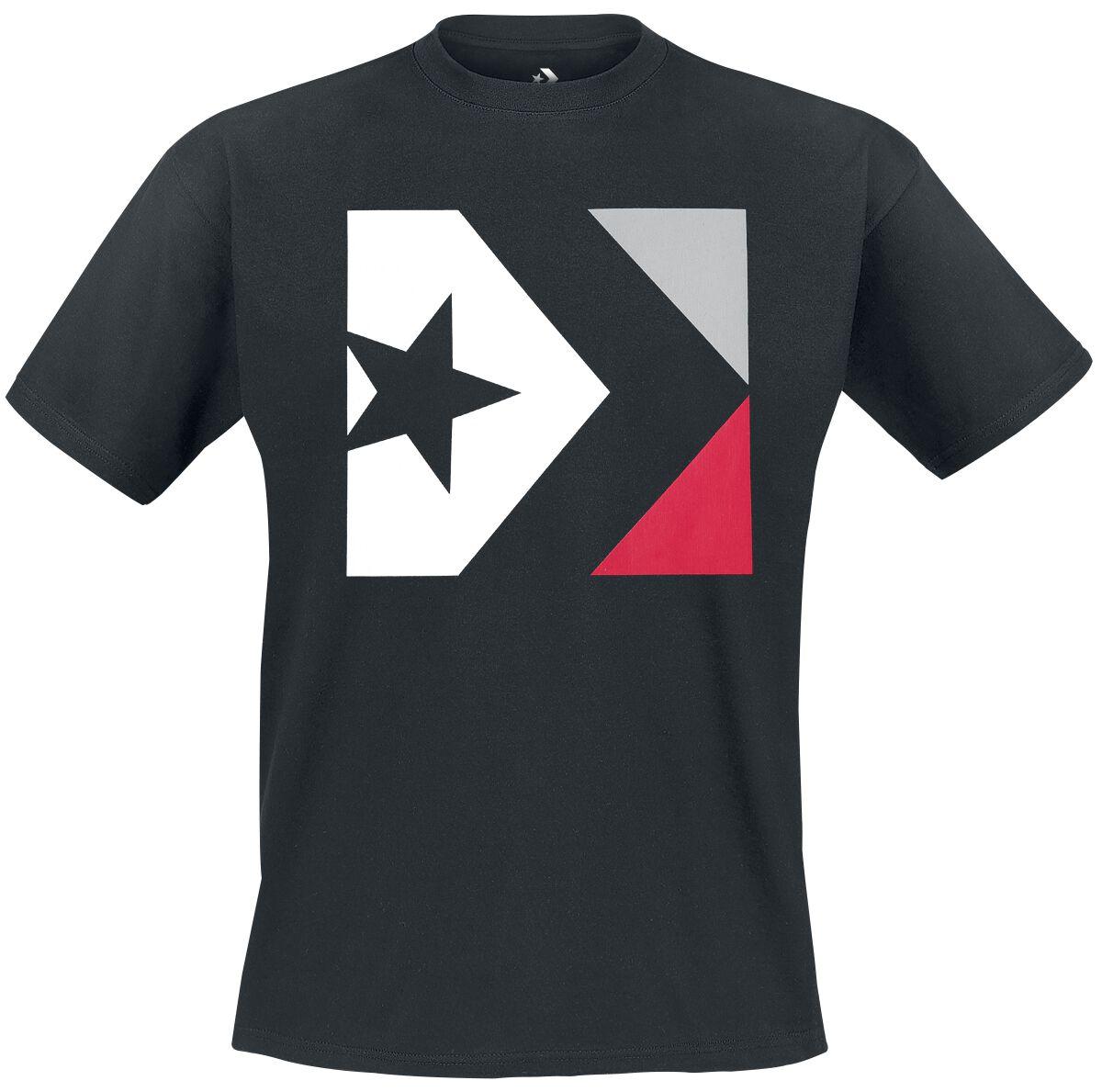 Image of   Converse Star Chevron Box Tee T-Shirt sort