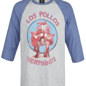 Breaking Bad Los Pollos Hermanos Manches longues gris chiné/bleu chiné