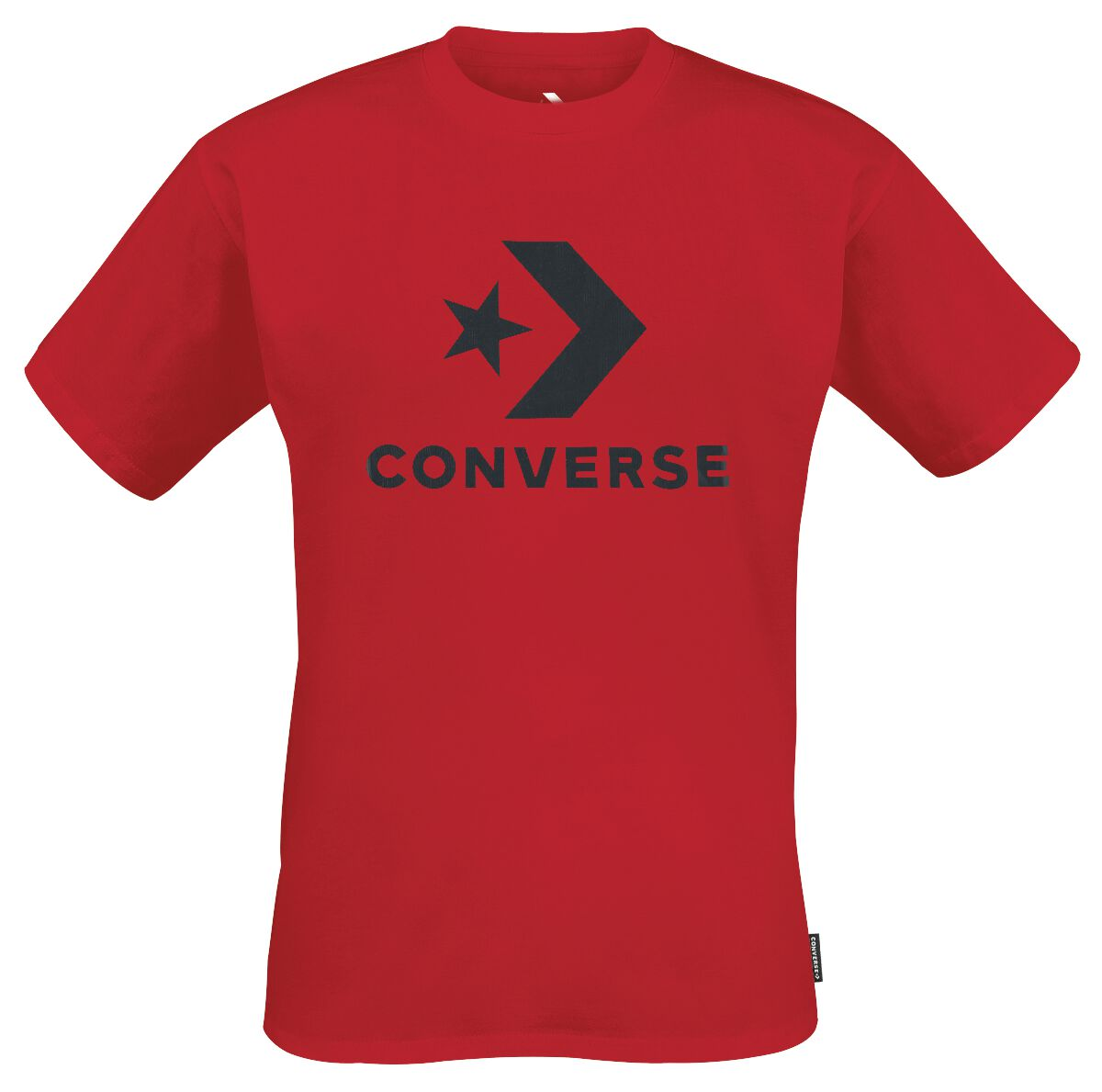 Image of   Converse Star Chevron Tee T-Shirt rød