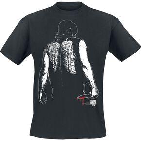 The Walking Dead Daryl Dixon - Wings Vest T-shirt noir