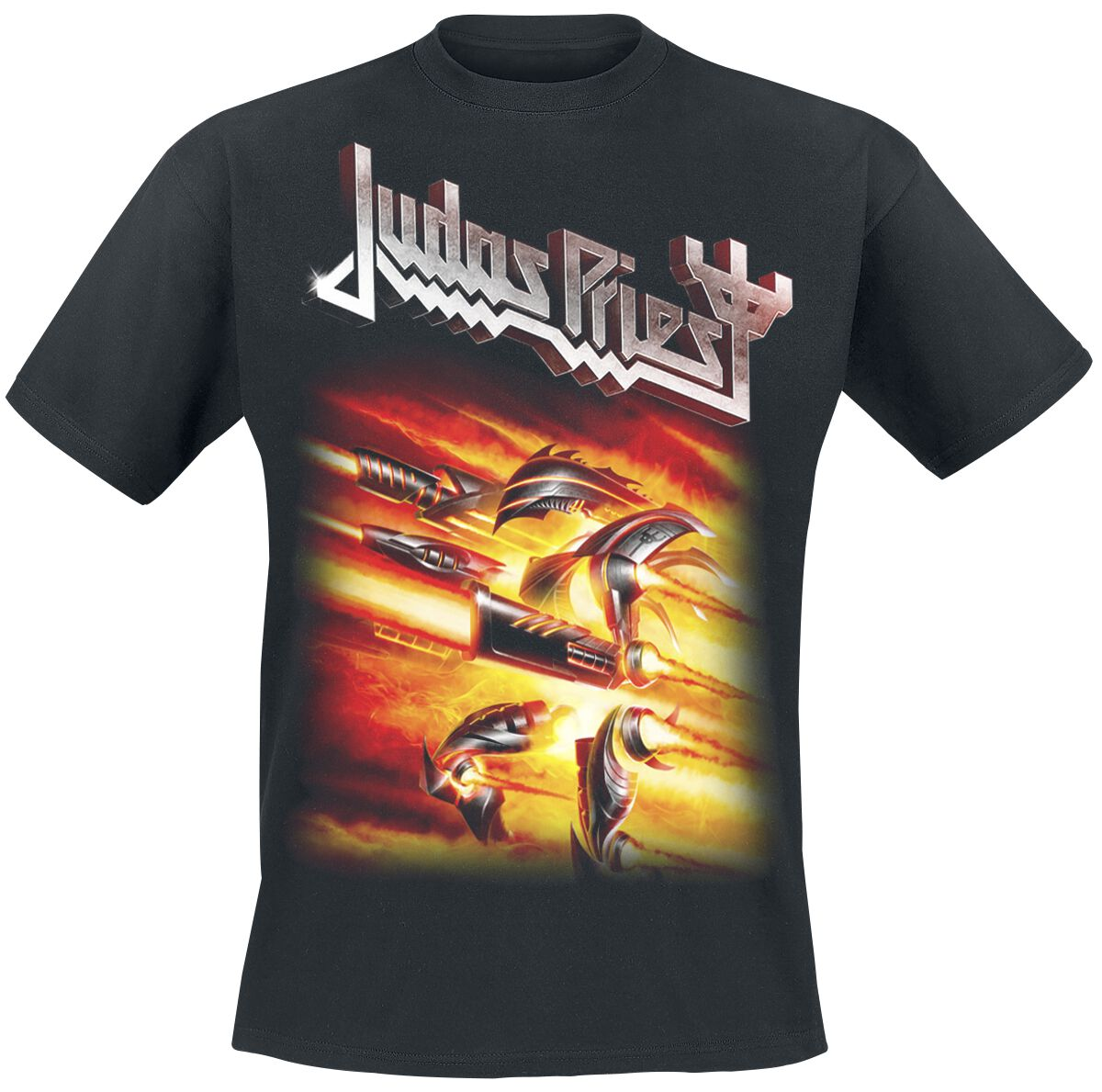 Image of   Judas Priest Firepower T-Shirt sort