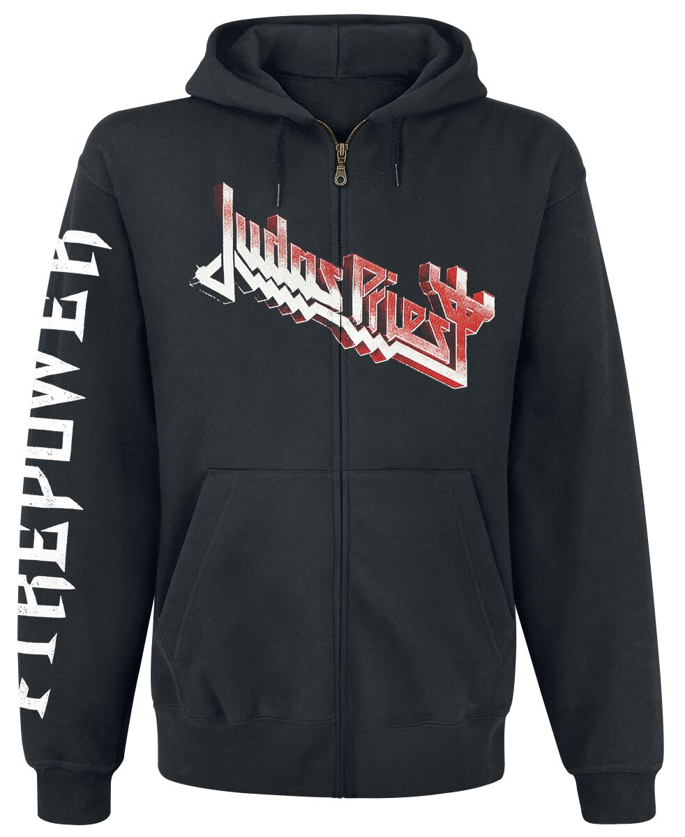 Image of   Judas Priest Firepower Hættejakke sort