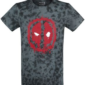 Deadpool Splash T-shirt bleu/noir