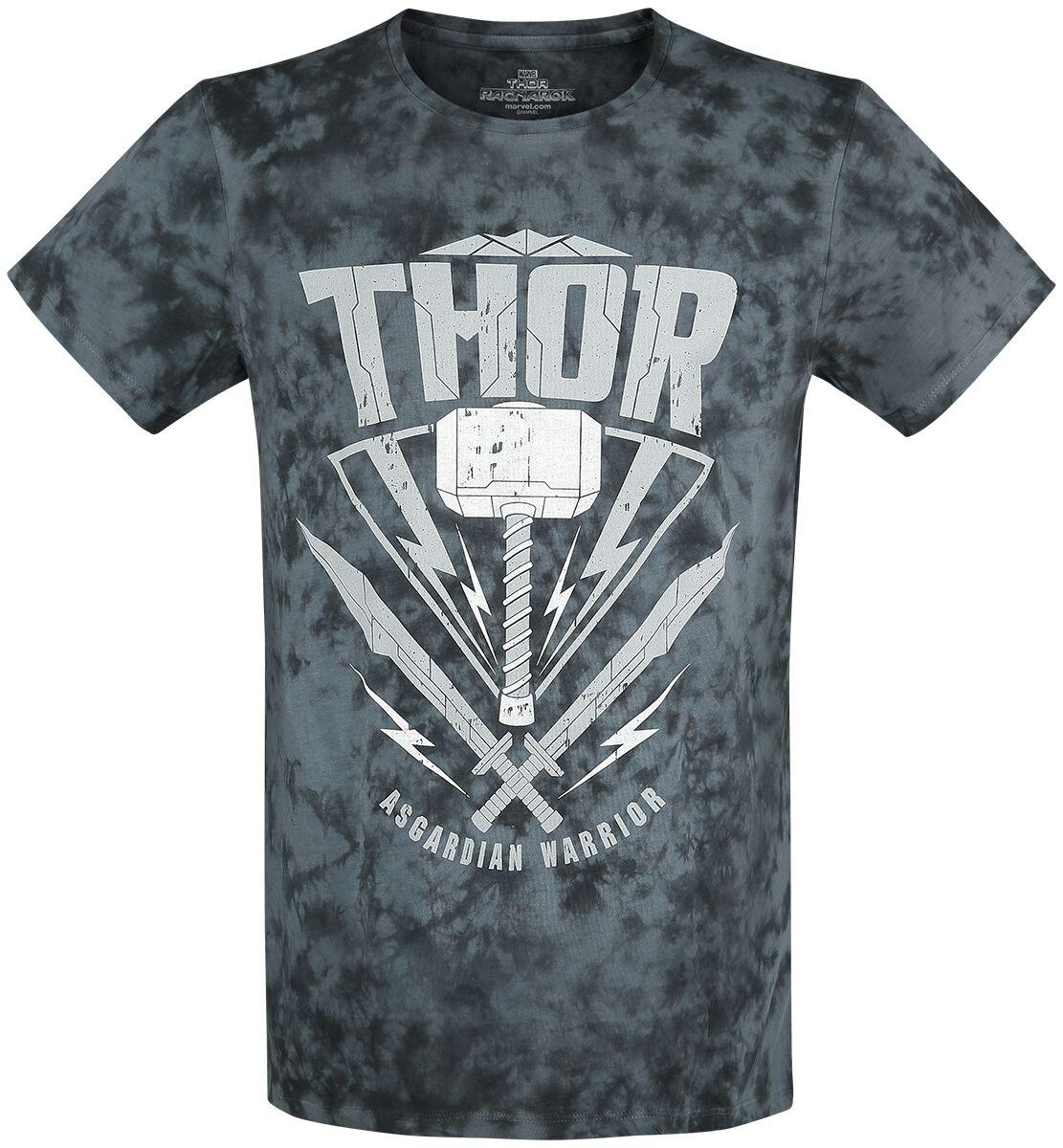 Image of   Thor Asgardian Warrior T-Shirt blå-sort