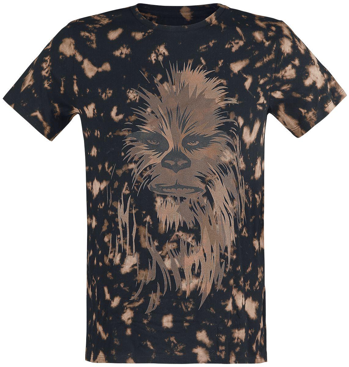 Image of   Star Wars Chewbacca T-Shirt sort-brun