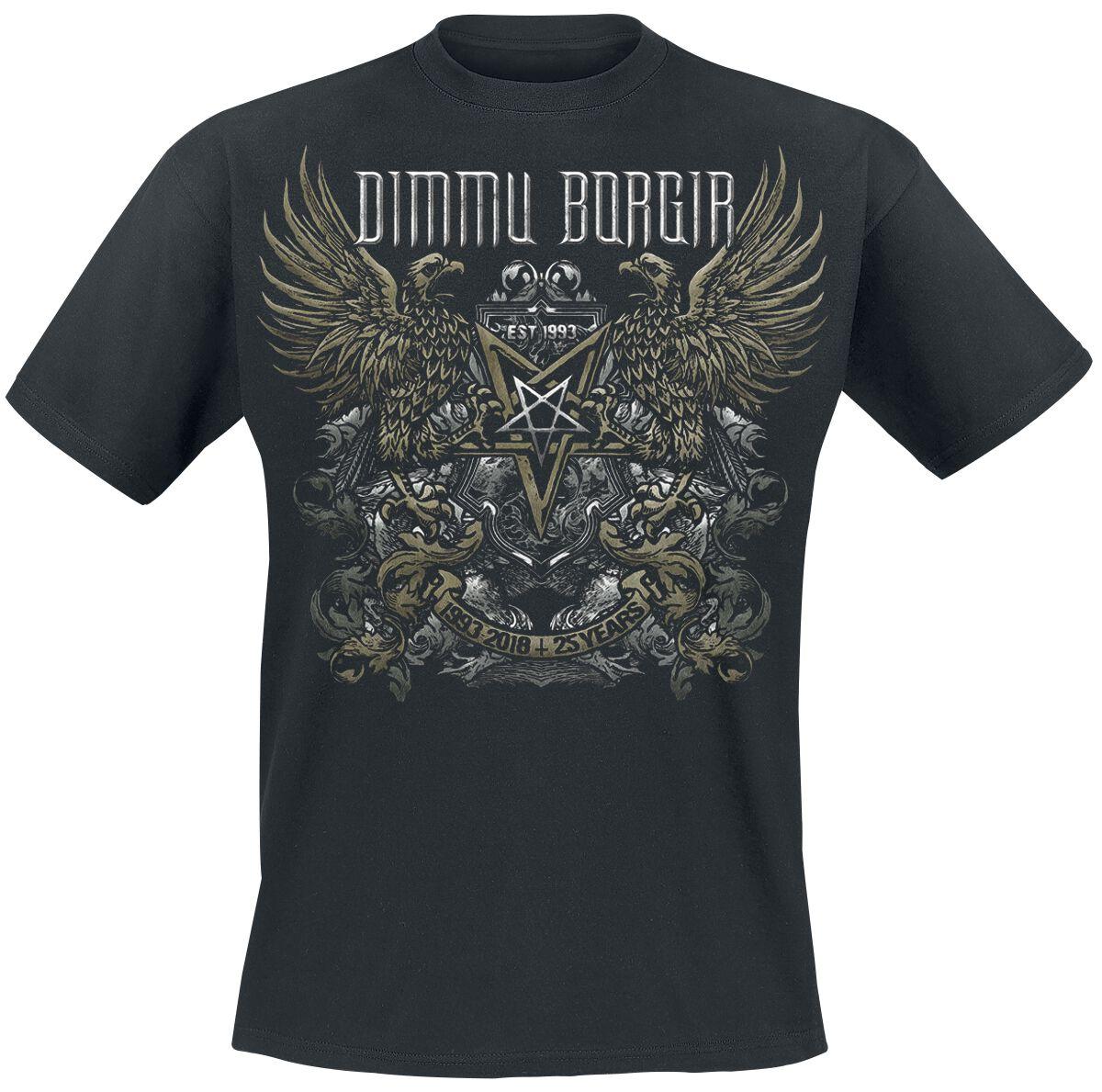Zespoły - Koszulki - T-Shirt Dimmu Borgir 25 Years T-Shirt czarny - 375220