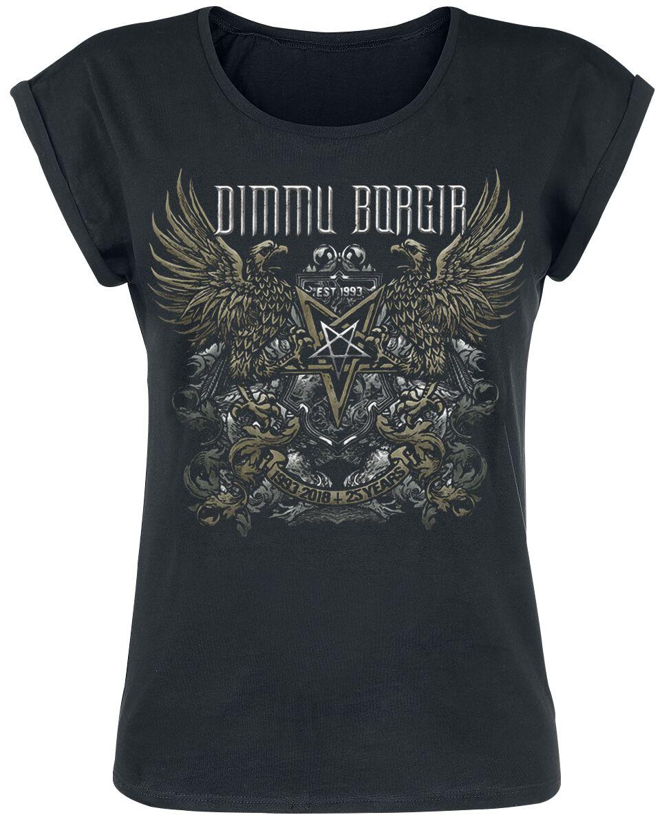 Zespoły - Koszulki - Koszulka damska Dimmu Borgir 25 Years Koszulka damska czarny - 375221