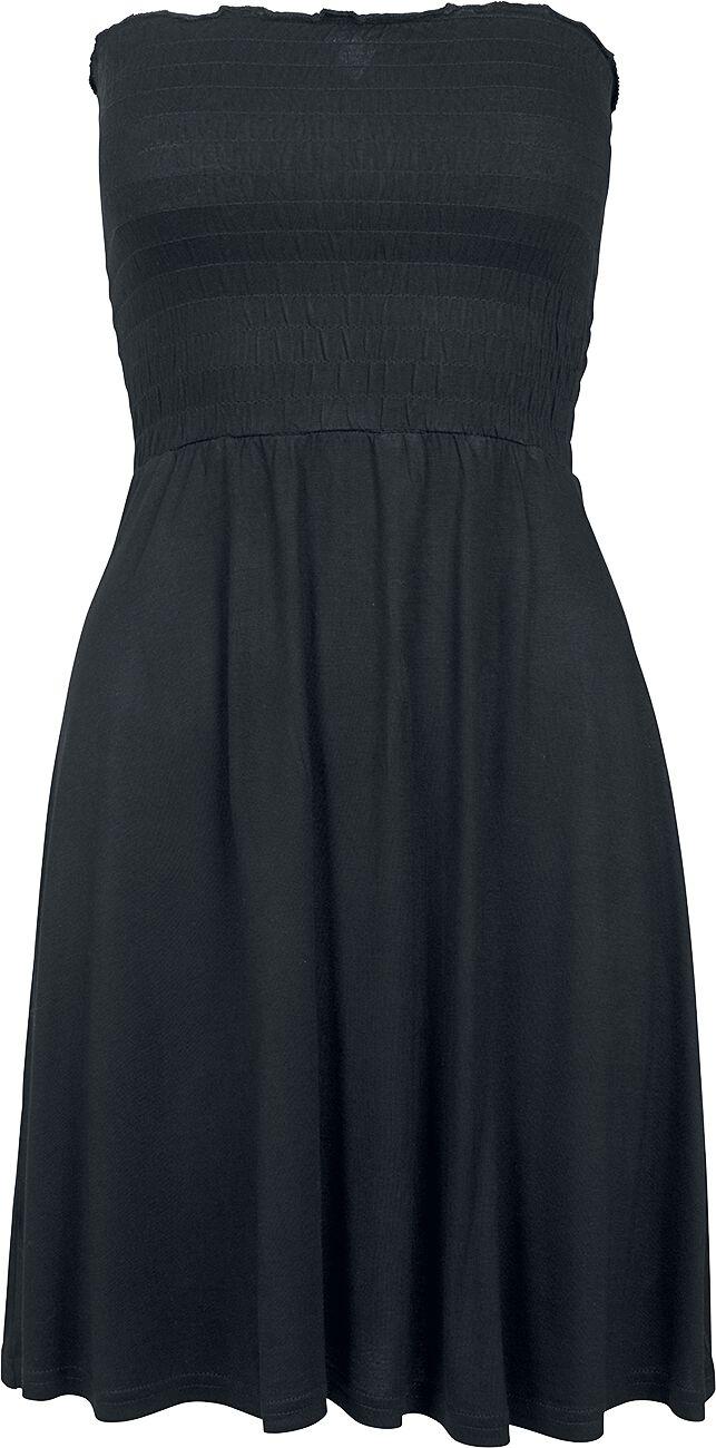 Urban Classics Ladies Smoke Bandeau Dress Sukienka czarny