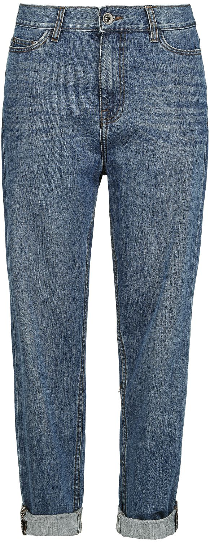 Image of   Urban Classics Denim Baggy Pants Jeans blå