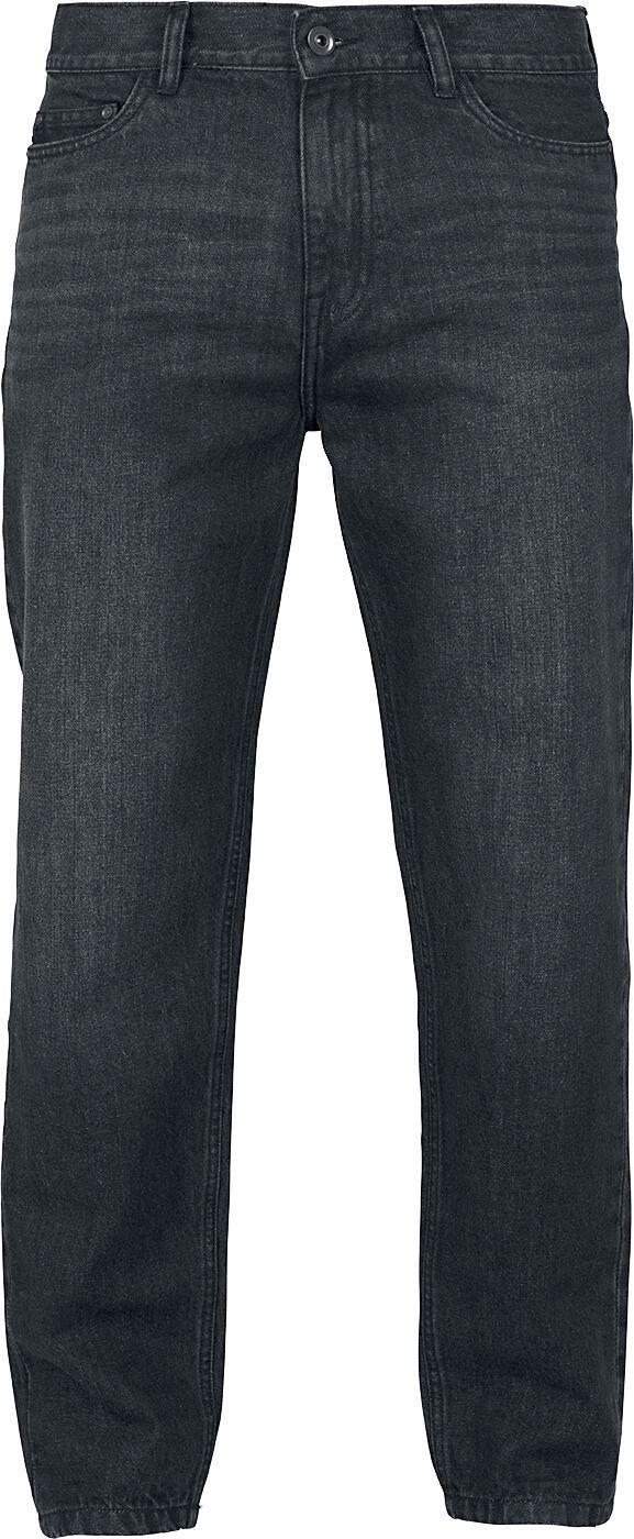 Image of   Urban Classics Denim Baggy Pants Jeans sort