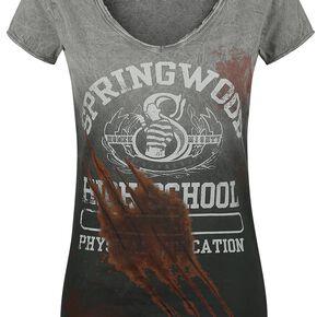 Les Griffes De La Nuit Springwood T-shirt Femme gris