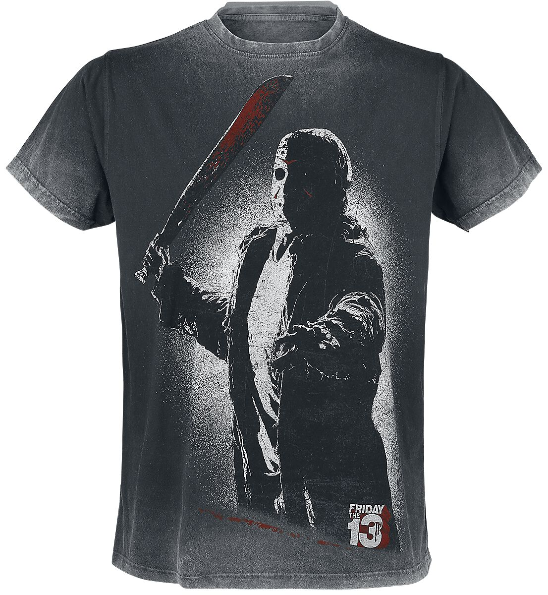 Merch dla Fanów - Koszulki - T-Shirt Friday The 13th Jason T-Shirt szary - 375310