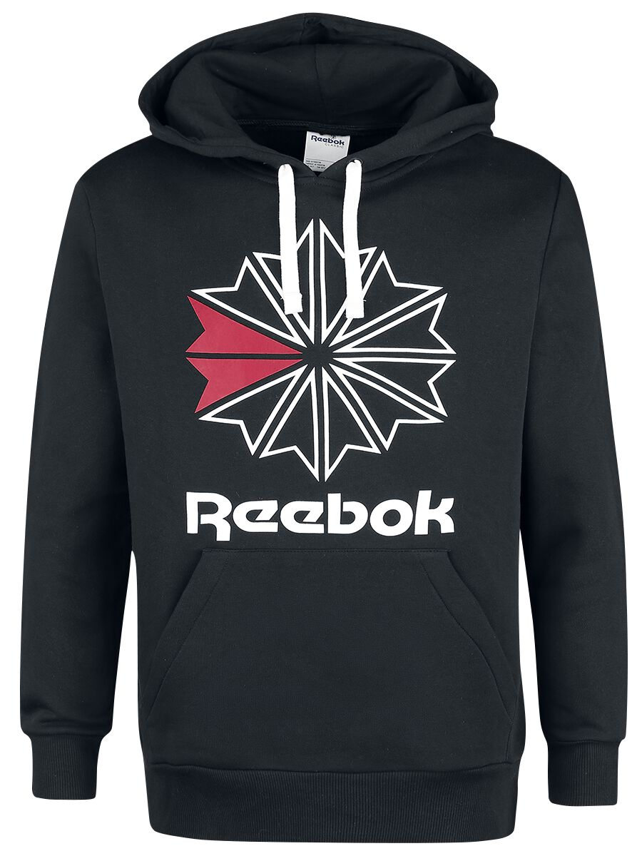 Image of   Reebok Star Hoody Hættetrøje sort