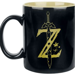 The Legend Of Zelda Z-Logo - Mug XXL Mug noir