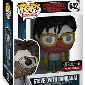 Stranger Things Figurine En Vinyle Steve (Avec Bandana) 642 Figurine de collection Standard