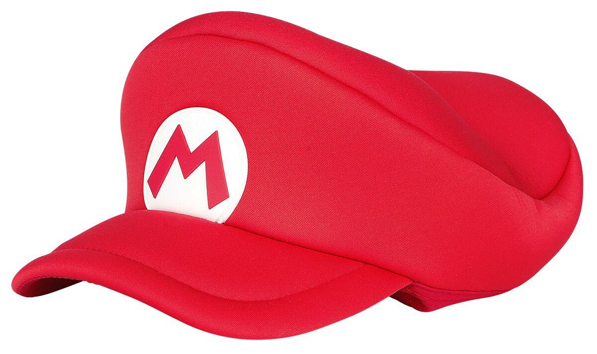 Image of   Super Mario Super Mario Cap für Kinder Cap rød