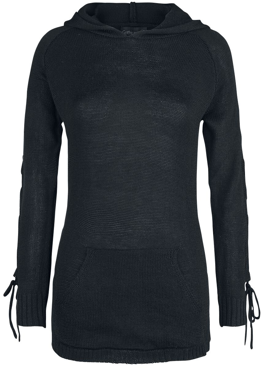 Image of   Gothicana by EMP Honesty Is No Excuse Girlie sweatshirt sort