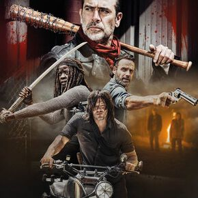 The Walking Dead Season 8 Collage Maxi Poster 61 x 91.5cm