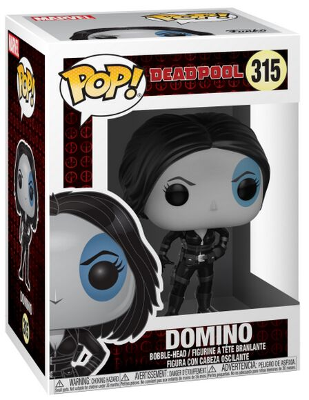Image of   Deadpool Domino Vinyl Figure 315 Samlefigur Standard