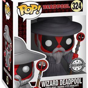 Deadpool Figurine En Vinyle Wizard Deadpool 324 Figurine de collection Standard