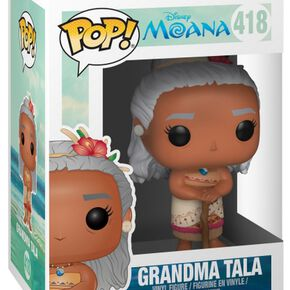 Figurine Pop! Vaiana : La Légende du bout du monde (Disney) - Grand-mère Tala