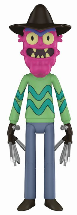 Image of   Rick And Morty Scary Terry Samlefigur Standard