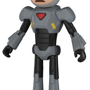 Figurine Morty dans costume Purge - Rick et Morty