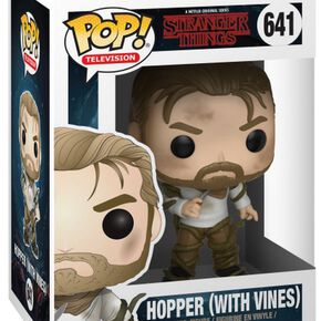 Stranger Things Figurine En Vinyle Hopper (With Vines) 641 Figurine de collection Standard