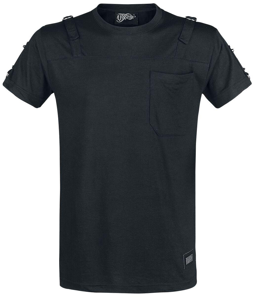 Image of   Vixxsin Ville Top T-Shirt sort