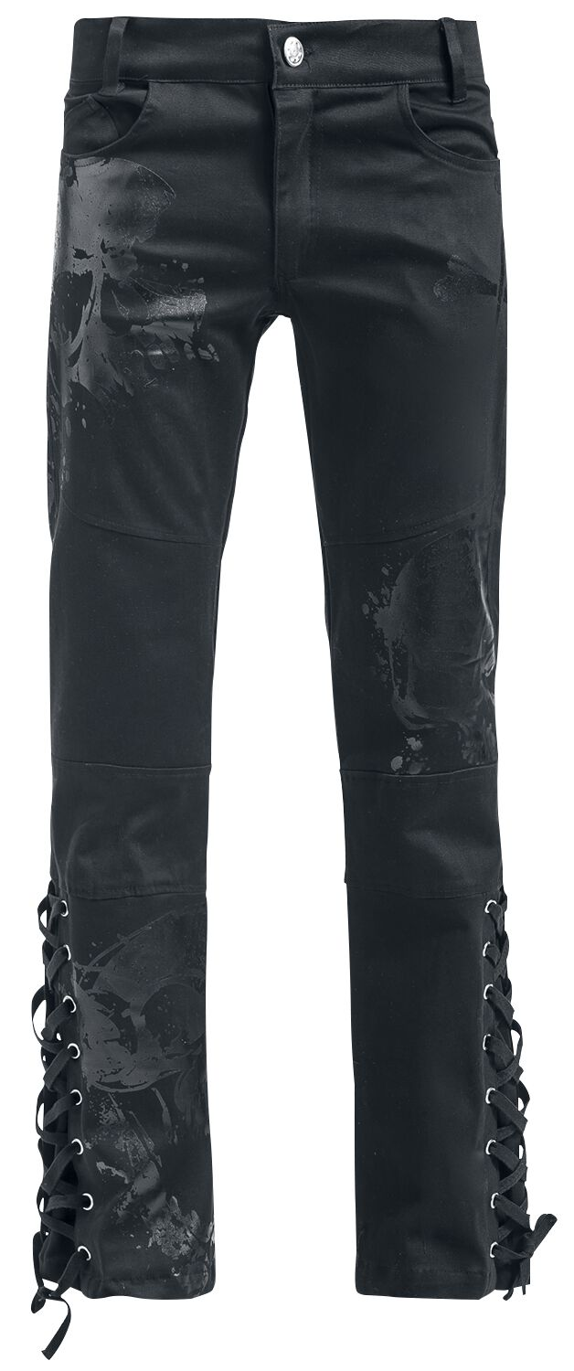 f24c2844 Vixxsin Adrian Pant Boot Cut Bukser sort